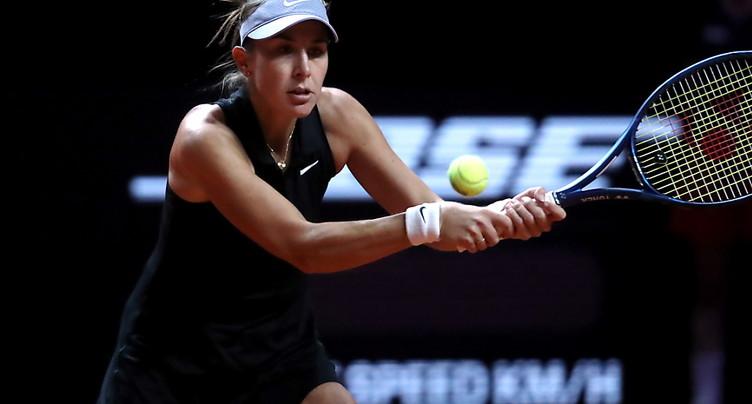 Bencic battue en deux sets par Alexandrova