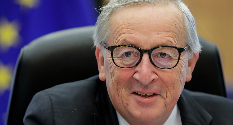 Berne doit continuer à discuter avec Bruxelles, estime Juncker