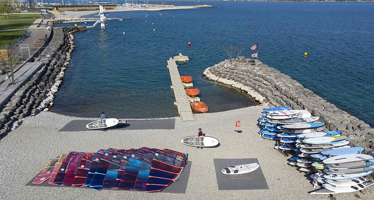 Genève-Plage: centre nautique réaménagé pour mieux profiter du lac