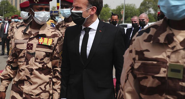 Inquiétudes sur la stabilité du Tchad aux funérailles de Déby