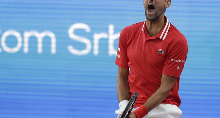 Djokovic battu en demi-finale chez lui par Karatsev