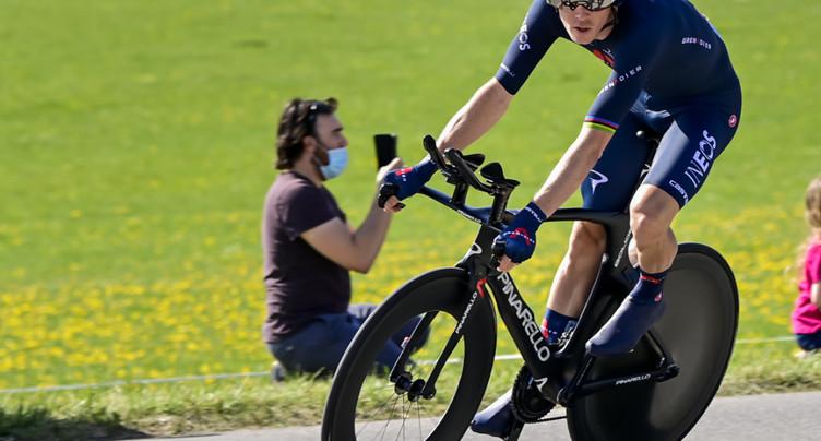 Tour de Romandie: Rohan Dennis premier leader