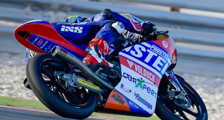 Moto3: Dupasquier brillant 4e des premiers essais libres