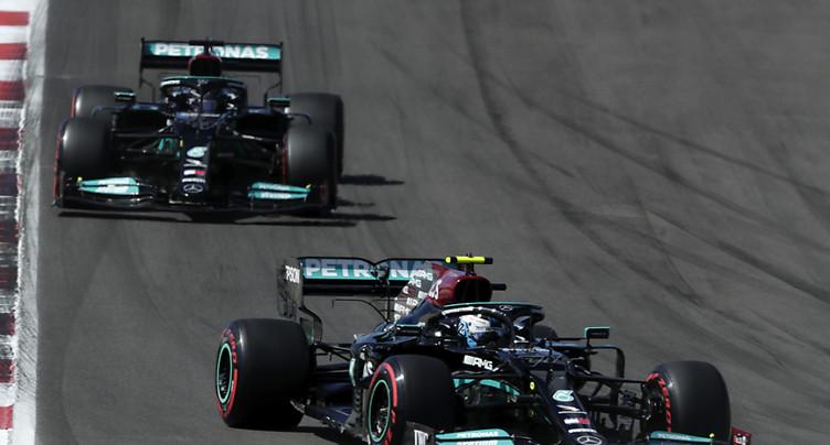 Bottas (Mercedes) s'offre au Portugal sa première pole de la saison