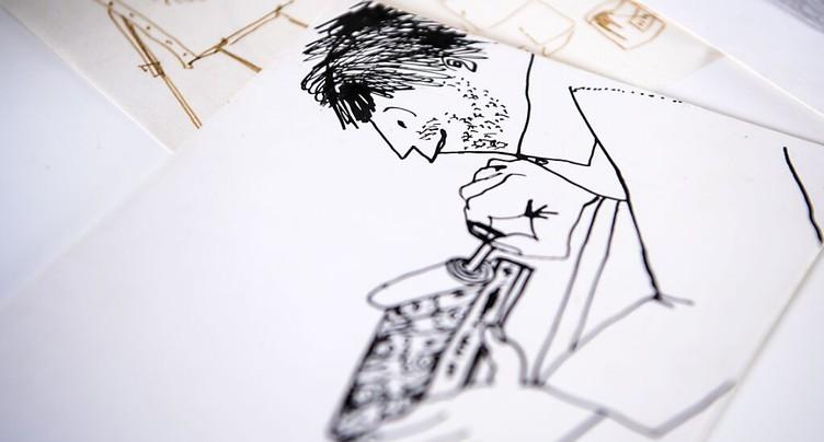Plus de 50 dessins inédits de Kurt von Ballmoos au Sentier (VD)