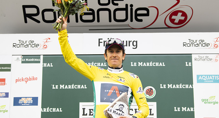 Geraint Thomas s'impose et prend date pour le Tour de France