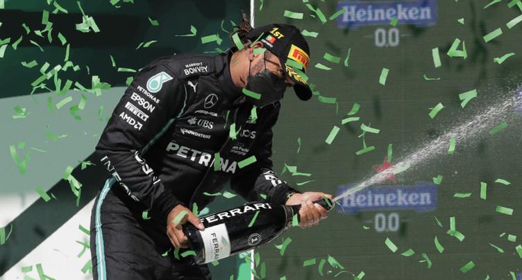 Hamilton s'offre un 97e succès aisé