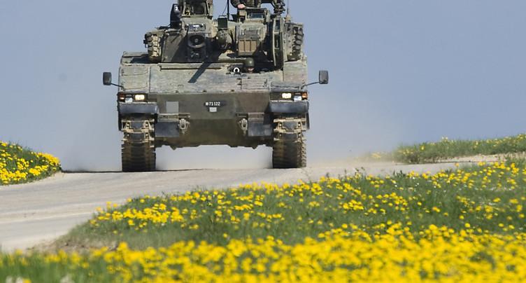 Quatre soldats retrouvés inconscients dans un char au Simplon