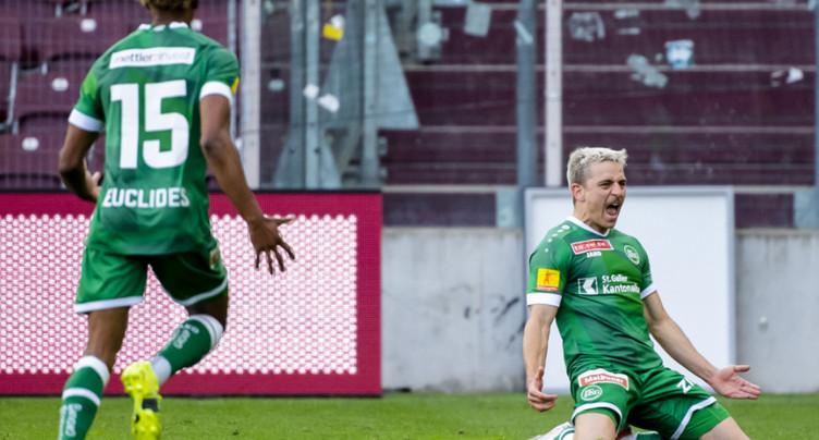 Coupe de Suisse: Saint-Gall rejoint Lucerne en finale
