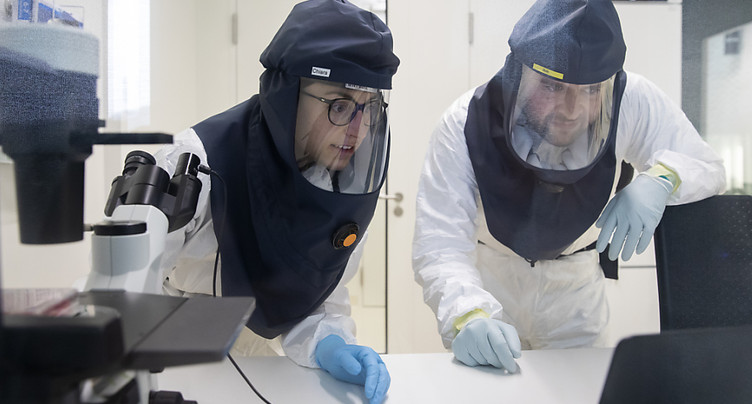 Travail difficile avec les coronavirus dans un laboratoire bernois