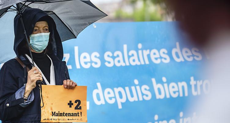 Les soignants réclament une revalorisation salariale immédiate