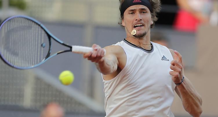 Zverev rejoint Nadal en quarts de finale à Madrid