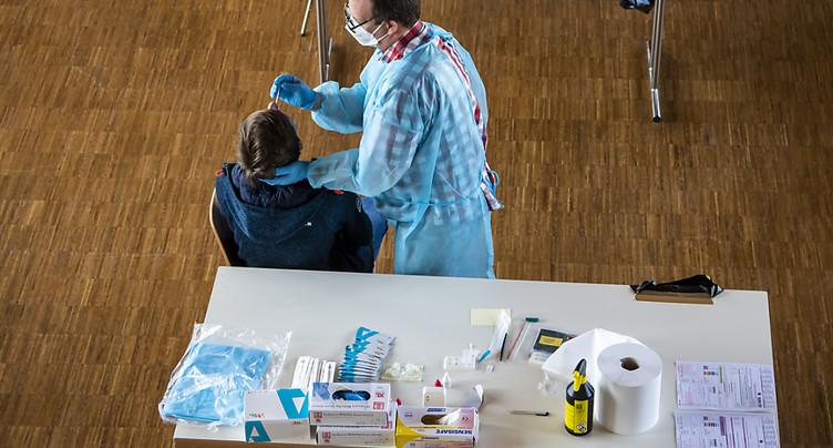 La Suisse compte 1546 nouveaux cas de coronavirus en 24 heures