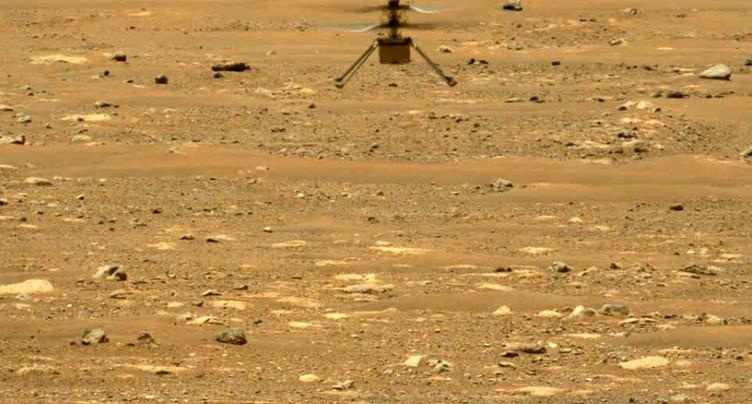 Le son du vol d'Ingenuity enregistré pour la première fois sur Mars