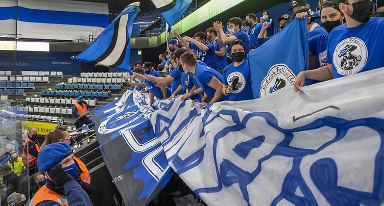 Près de 5000 Zougois ont fêté le titre de leur club