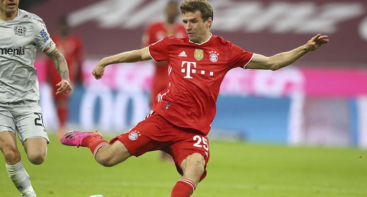 Le Bayern champion d'Allemagne pour la 9e fois consécutive