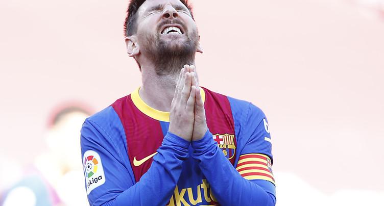 Le Barça accroche l'Atlético, à la merci du Real