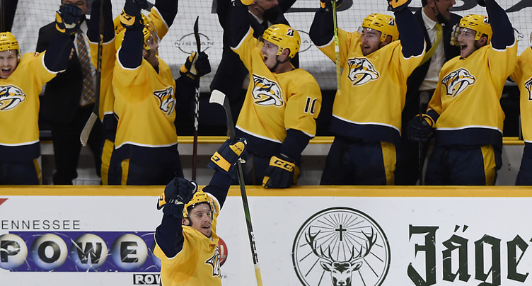 Nashville bat Carolina pour se hisser en play-off