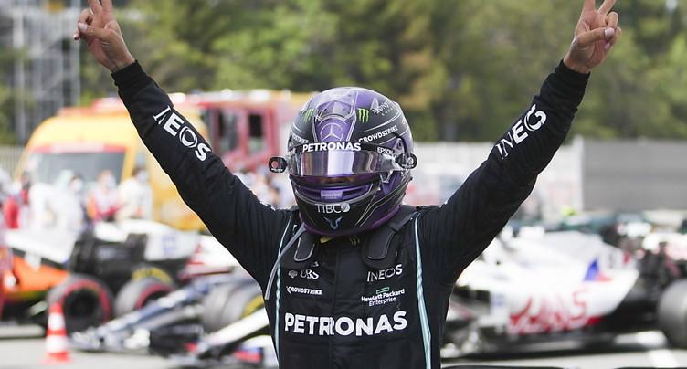 Un 98e succès en F1 pour Hamilton