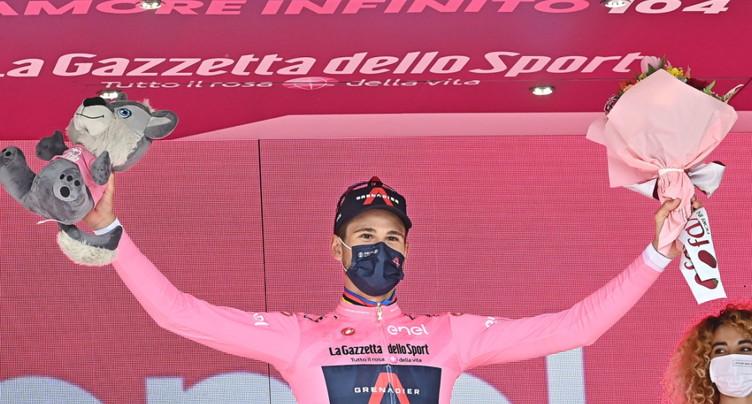 Merlier gagne la 2e étape, Ganna reste en rose