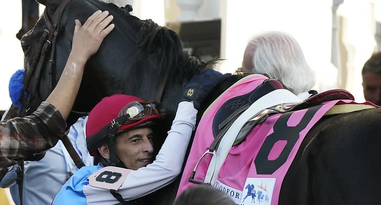Le cheval vainqueur du Kentucky Derby positif à un stéroïde