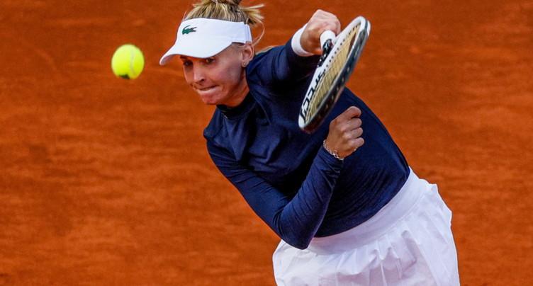 Tournoi WTA 1000 de Rome: Jil Teichmann sortie d'entrée