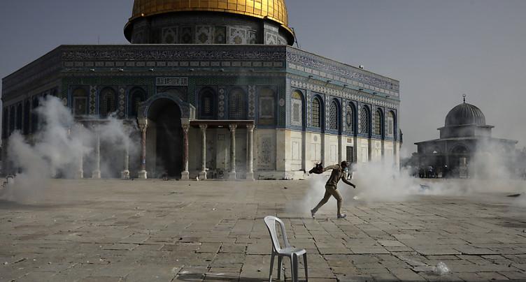 Nouvelle journée de violences à Jérusalem-Est: plus de 300 blessés