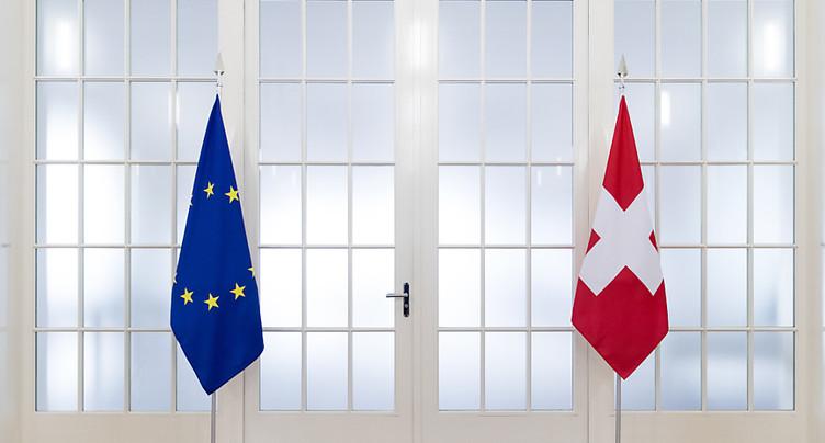 Les cantons plaident pour des relations stables avec Bruxelles