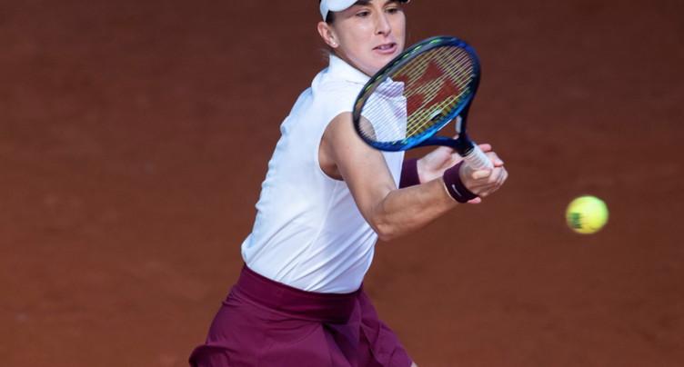 Tournoi WTA 1000 de Rome: Belinda Bencic éliminée au 1er tour