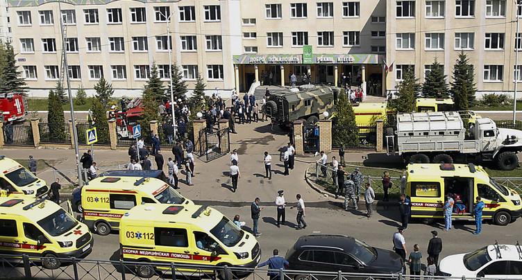 Plusieurs morts dans une fusillade dans une école de Kazan