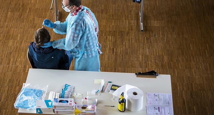 La Suisse compte 1375 nouveaux cas de coronavirus en 24 heures