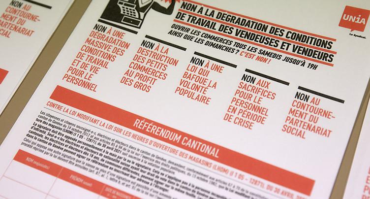 Référendum contre la pérennisation de trois ouvertures dominicales