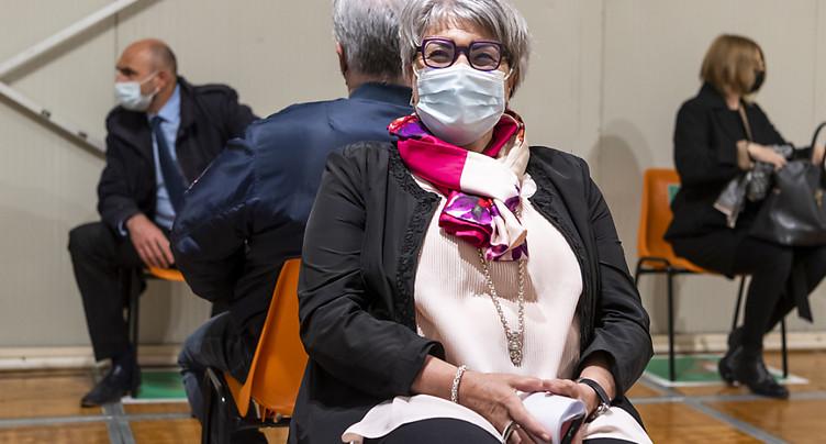 Neuchâtel: vaccination du Conseil d'Etat pour montrer l'exemple