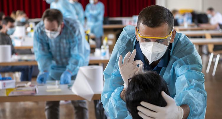 La Suisse compte 1539 nouveaux cas de coronavirus en 24 heures
