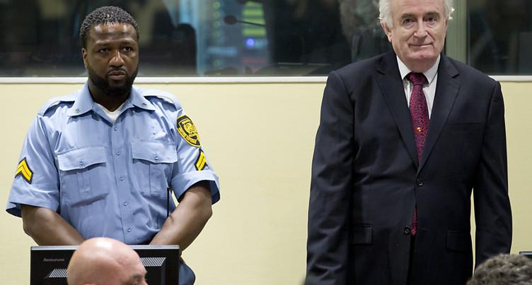 Londres accepte le transfert de Karadzic pour purger sa peine