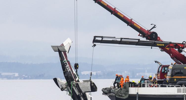 La remontée de l'avion accidenté peut commencer au large de Staad