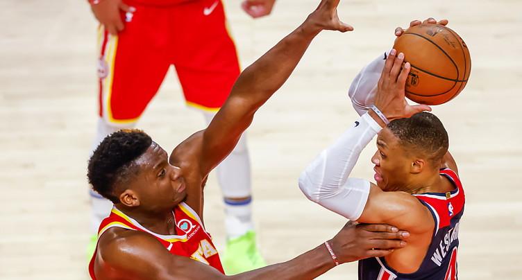 Capela et les Hawks en play-off