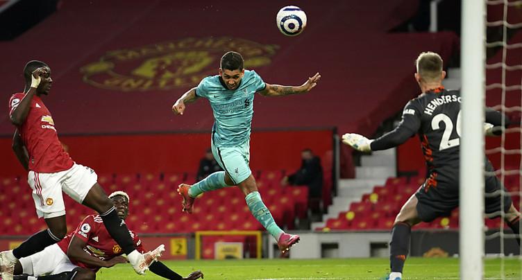 Premier League: Liverpool s'impose 4-2 à Old Trafford
