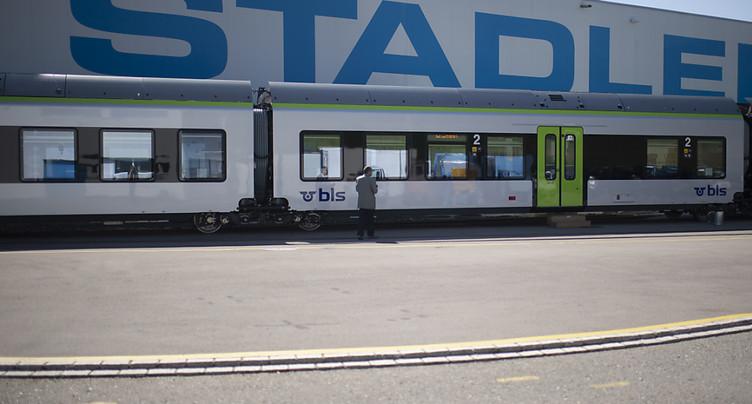 Stadler Rail entend rattraper le retard accumulé en 2021