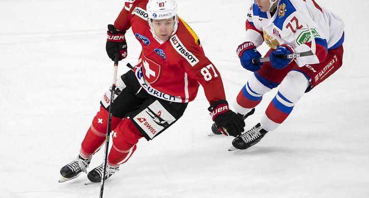 La Suisse solide face aux Lettons