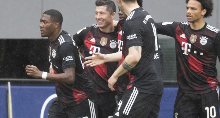 Lewandowski égale Gerd Müller et ses 40 buts en Bundesliga