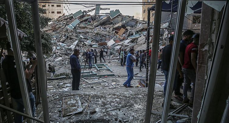 Frappe israélienne sur la maison du chef du Hamas à Gaza