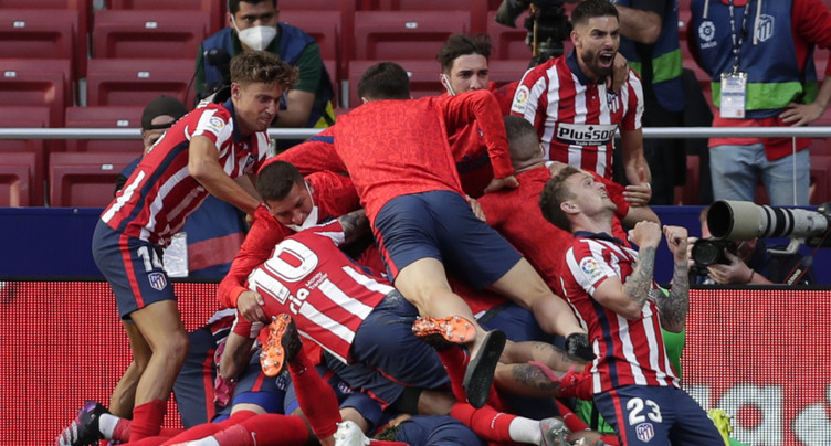 L'Atlético reste en tête devant le Real avant la dernière journée