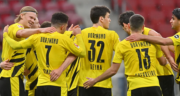 Dortmund vainqueur et qualifié pour la Ligue des champions