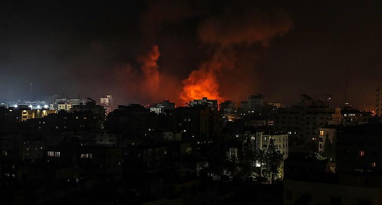 Nouvelle nuit de pilonnage de Gaza par Israël