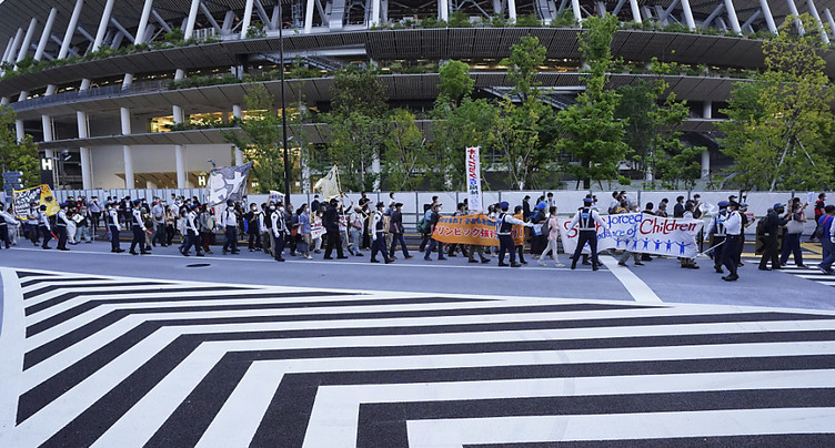 Plus de 80% des Japonais contre les JO cet été
