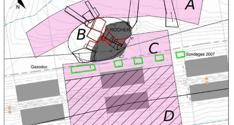A9: Nouvelles fouilles archéologiques dans le Bois de Finges (VS)