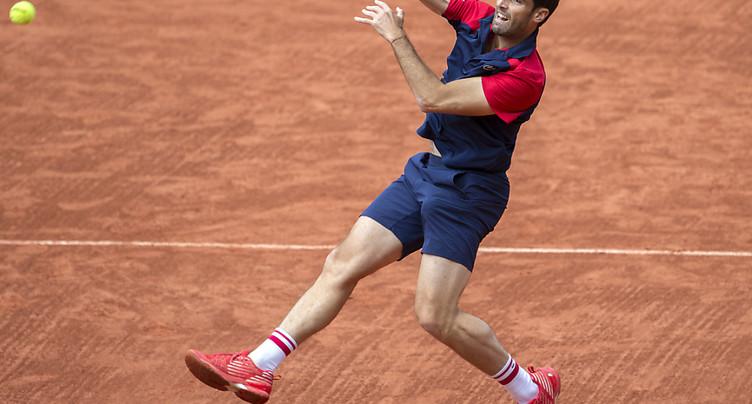 Federer affrontera Pablo Andujar en 8e de finale