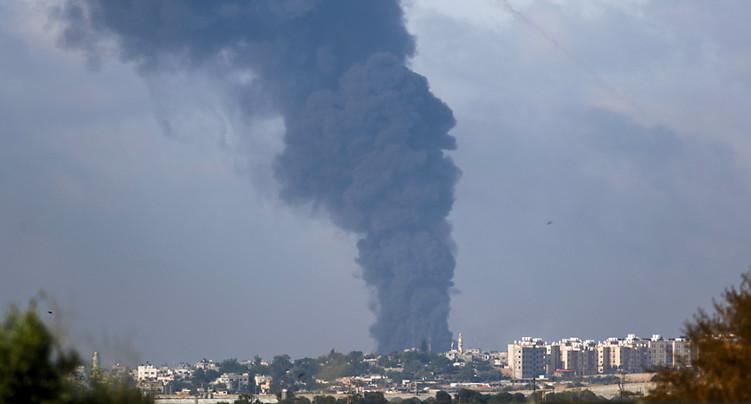 Bombardements en série à Gaza, après une semaine de conflit