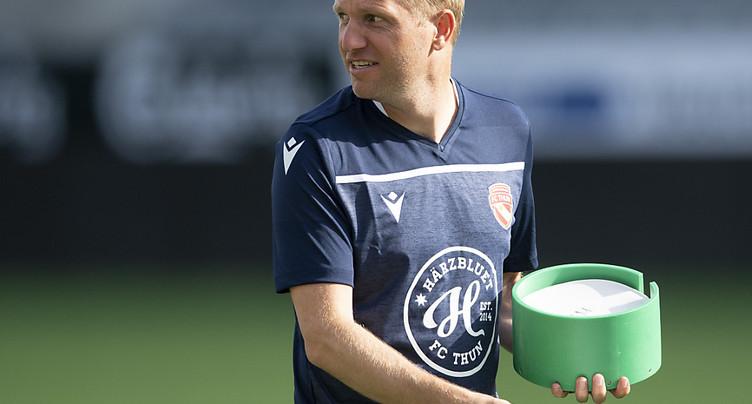 Ex-entraîneur de Thoune, Schneider émigre en Belgique